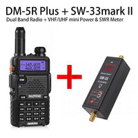 Baofeng DM-5R Plus DMR Digital Two-Way Radio FREE FOR SW33 mark II S.W.R. METER