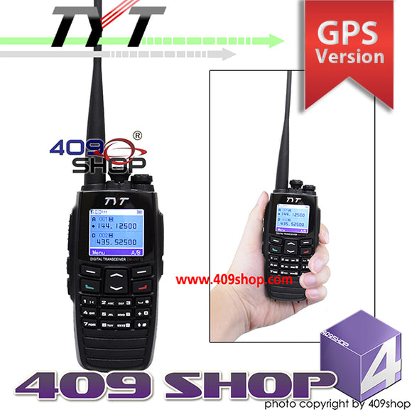 TYT DM-UVF10 DPMR GPS Digital Radio 136-174/400-470MHz
