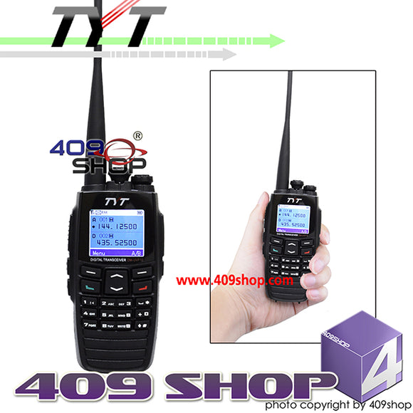 TYT DM-UVF10 Dual Band DPMR Digital Transceiver Digital Portable Mobile Radio VHF UHF Walkie Talkie