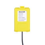Yellow car charger for baofeng UV-5R UV-8R