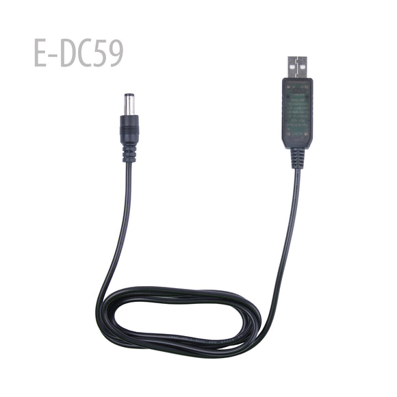 5.5MM/2.1MM - USB DC charger Boost Converter CABLE for puxing px-777 px-888