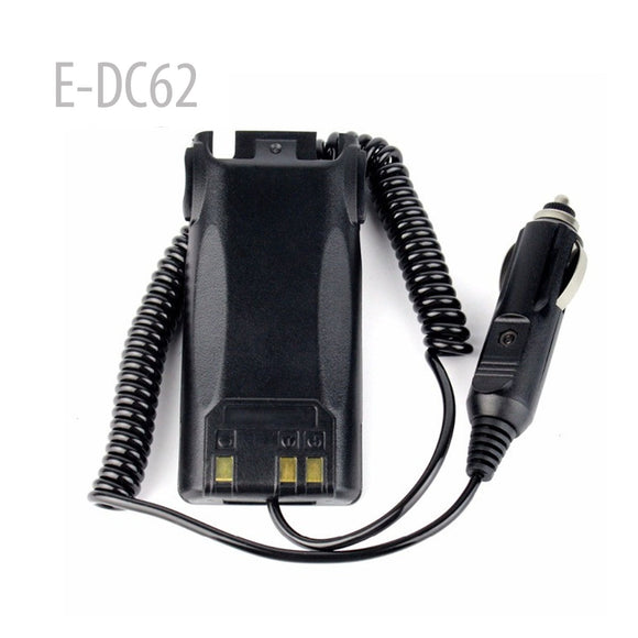 Car Charger radio Battery Eliminator For BAOFENG UV82 UV-82HP Walkie Talkie