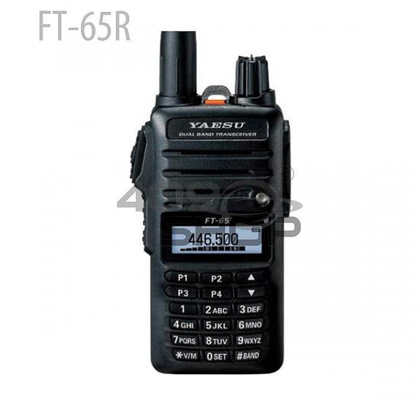 FT-65R-YAESU FT-65R VHF/UHF 2 Meter/70cm Dual Band FM Transceiver(NOT Include Shipping Cost)
