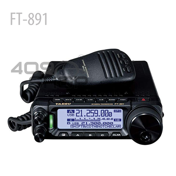 FT891-YAESU FT-891 HF+50Mhz ALL MODE MOBILE TRANSCEIVER(NOT Include Shipping Cost)
