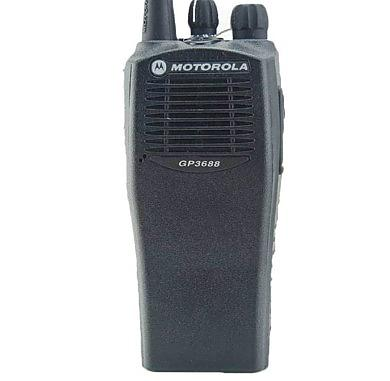 Motorola GP3688 Walkie Talkie UHF 403-430MHz Handheld Two Way Radio