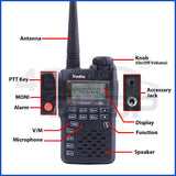 IRADIO I568 UHF 400-470MHZ walkie talkie + earpiece