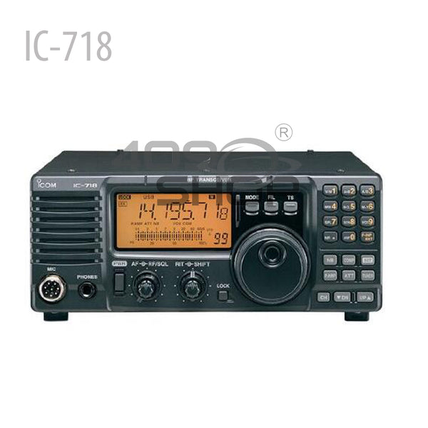 IC-718-Icom IC-718 HF All Band Amateur Base Transceiver (NOT Include Shipping Cost)