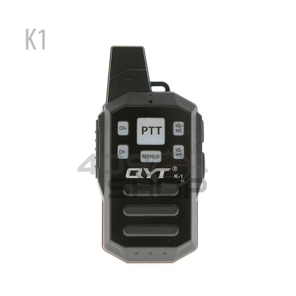 QYT K1 Dual PTT Rainproof Mini Walkie Talkie