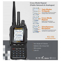 KG-V55 Dual Band Analogue and Network(Simcard Radio , WCDMA)