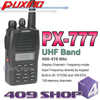 Puxing PX-777 UHF 400-470Mhz + Earpiece