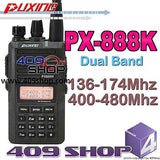 PUXING PX-888K (BLACK) Dual Band 136-174/400-480Mhz