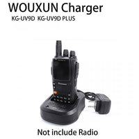 Original Wouxun Walkie Talkie Radio Battery Charger 100V-240V for KG-UV9D Two Way Radio