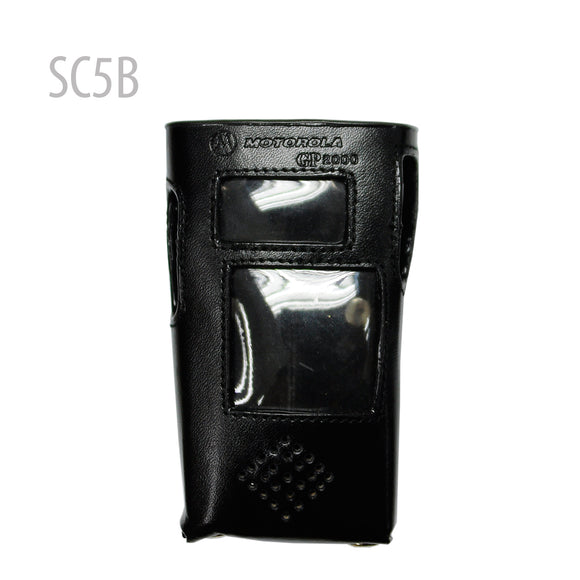 Leather Carry Case with Belt Clip for GP-2000