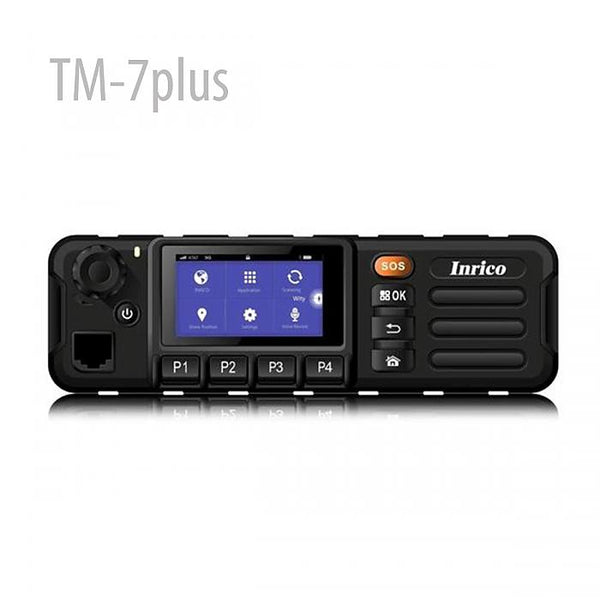 Inrico newest 4G LTE mobile car radio oF TM-7plus