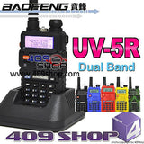 BAOFENG UV-5R Dual Band 4W HAM RADIO with Earpiece