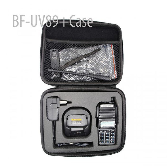 BAOFENG BFUV89 136-174/400-520MHZ  VHF/ UHF DUAL-BAND TWO WAY RADIO + Case