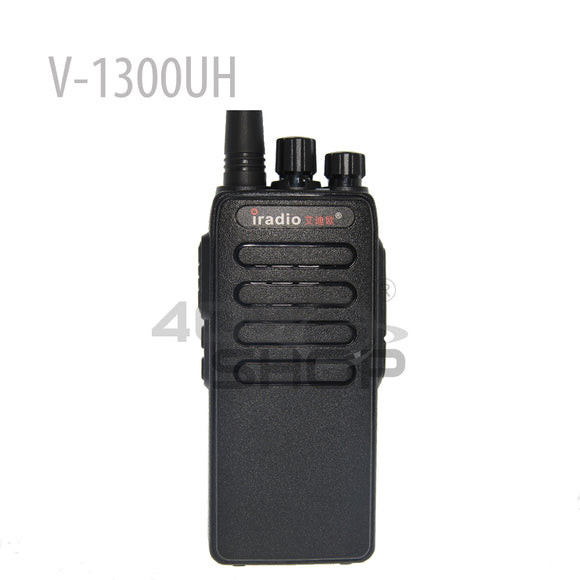 Iradio V-1300UH 400-480MHz UHF Radio walkie talkie