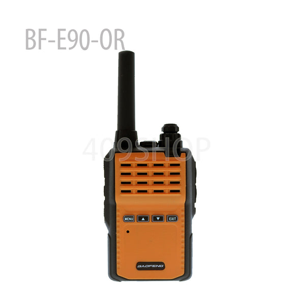 BAOFENG BF-E90-OR Mini Two Way Radio UHF 400-470 MHZ Orange