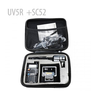 BaoFeng UV-5R Dual Band Two Way Radio (Black) + Case