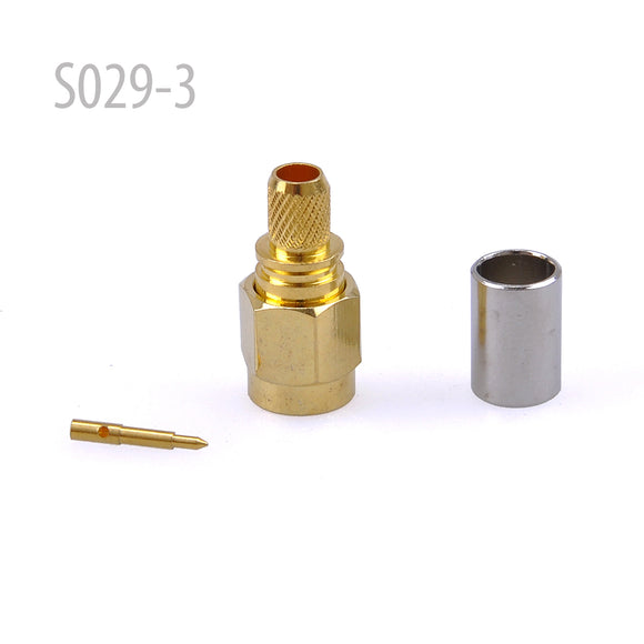 SMA MALE PLUG for 3C Cable