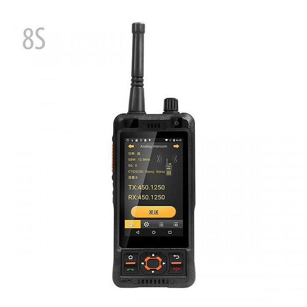 SURE 8S Walkie Talkie Android Smartphone DMR/Analog Dual Mode UHF 400-470MHz Two