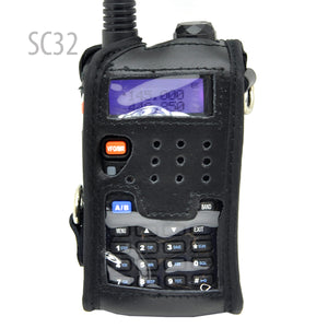 Leather soft case for BAOFENG WACCOM UV-5R TYT TH-F8