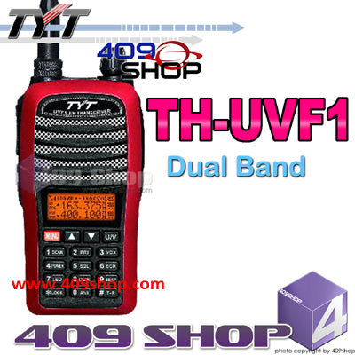 TYT TH-UVF1 Red Dual Band two way radio VHF/UHF
