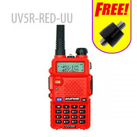 BAOFENG UV-5R   walkie talkie FREE ADAPTOR