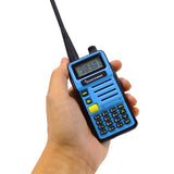 QUANSHENG UVR8 UHF/VHF dual band two way radio
