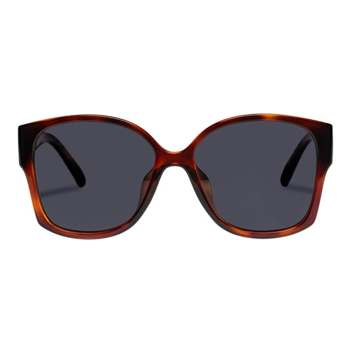Le Specs Female Athena Alt Fit  Tort Square Sunglasses