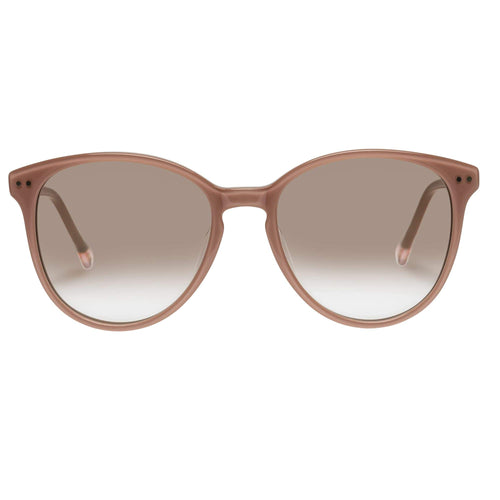 Le Specs Lqqks Womens Pink Round Prescription Ready Sunglasses