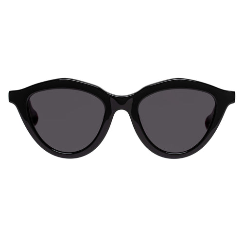 Le Specs Medina Maze Black Cat-Eye Prescription Ready Sunglasses Medina Maze Black Lsh2026374