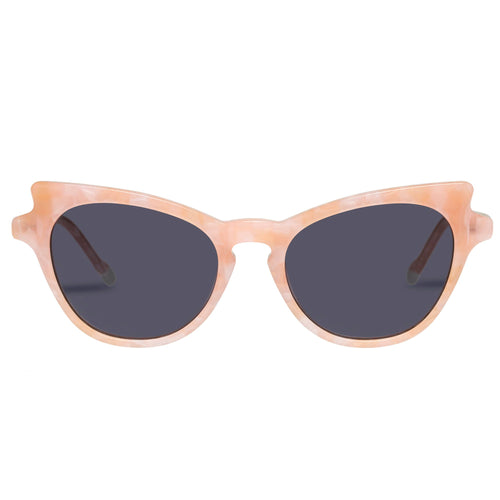 Le Specs Female Kiss Of Fire Pink Cat-Eye Prescription Ready Sunglasses