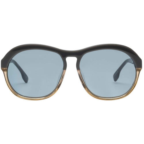 Le Specs Burnout Uni-Sex Grey Aviator Sunglasses