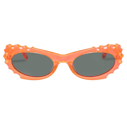 Le Specs Female Protozoa Orange Cat-Eye Sunglasses