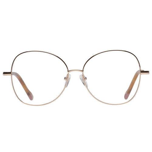 Le Specs Grand Entrance Womens Rose Round Eyeglasses