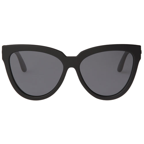 Le Specs Polarised  Liar Lair Womens Black Cat-Eye Sunglasses