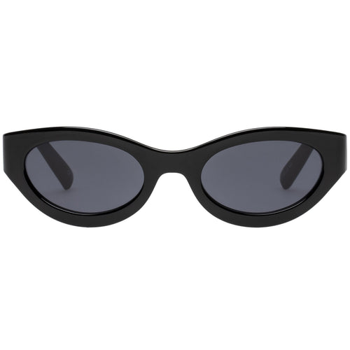 Le Specs Body Bumpin Uni-Sex Black Wrap Fashion Sunglasses