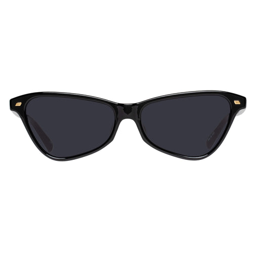 Le Specs Situationship Black Cat-Eye Sunglasses Situationship Black Lsp2002180