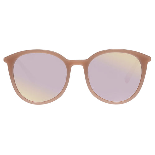 Le Specs Female Le Danzing Rose Round Sunglasses