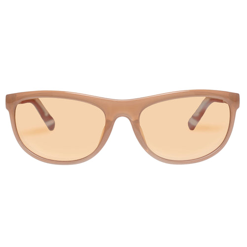 Le Specs Uni-Sex Pirata  Tan Wrap Sport Sunglasses