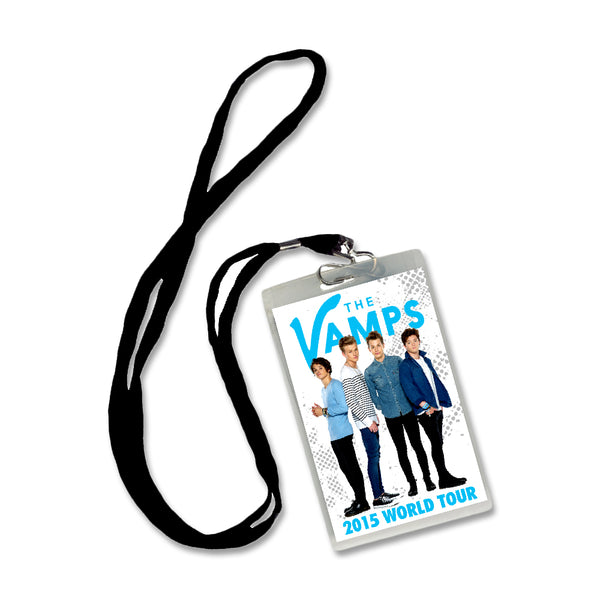 2015 Tour Laminate + Lanyard