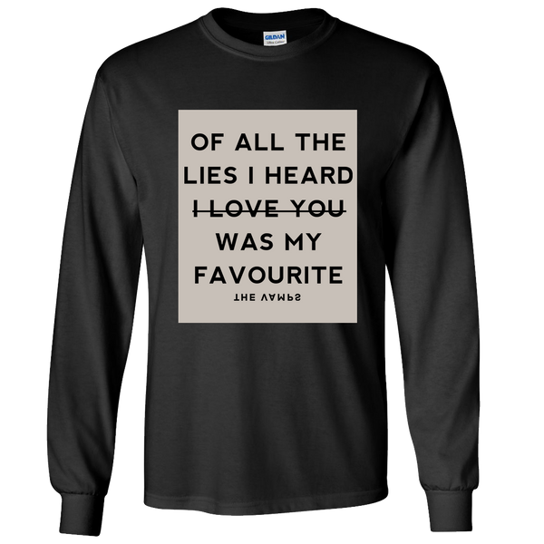 All The Lies Black Longsleeve