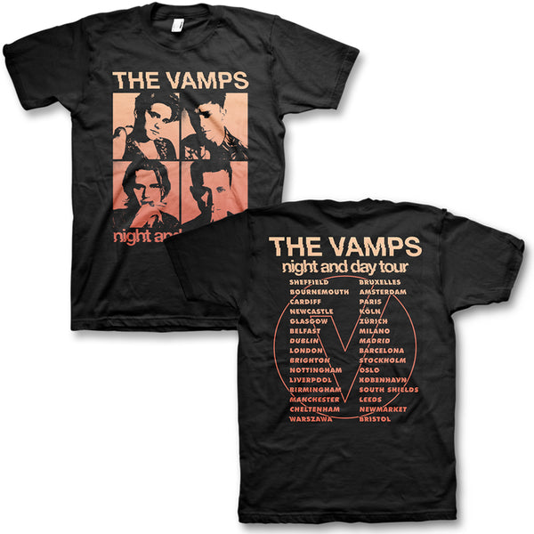 Night & Day Tour Tee with Dates