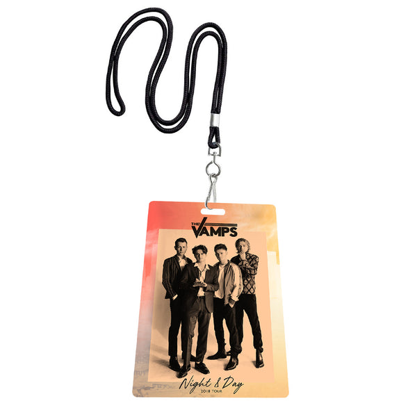 Night & Day Tour Laminate/Lanyard