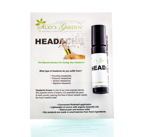Natural Aromatherapy Headache Relief - HEADACHE ERASER