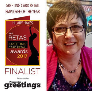 Highlights of 2017 - Hilary Employee of the Year Finalist RETAS Awards