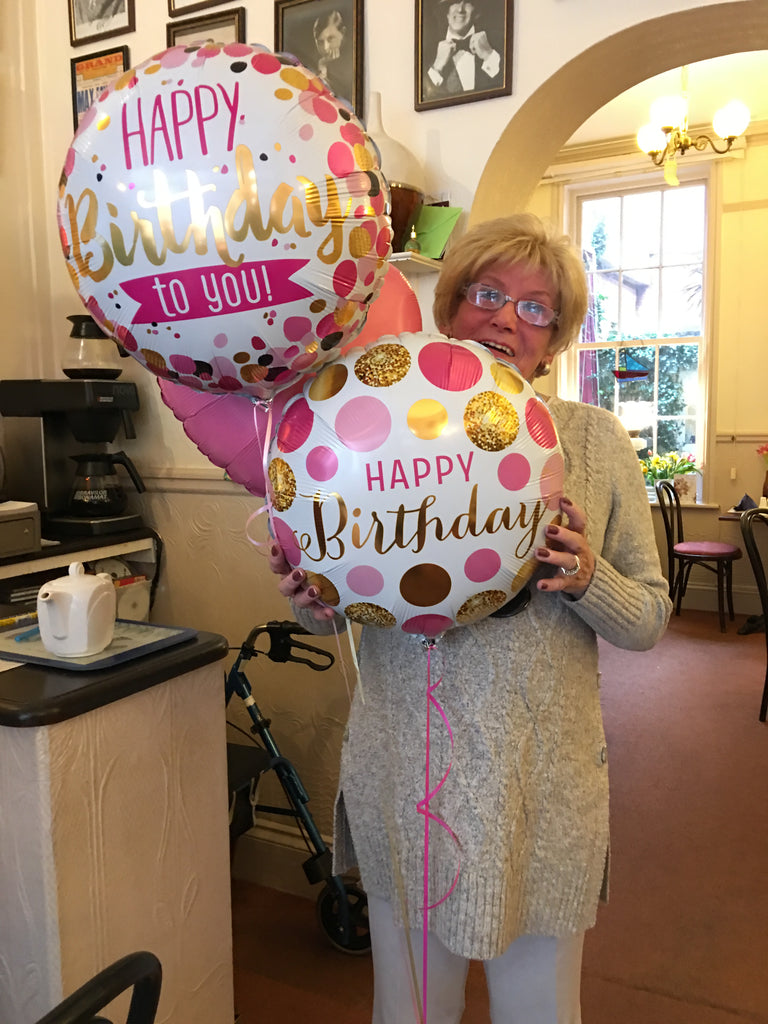 Sidmouth Town Centre Balloon Bouquet Delivery