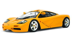 "TSM 134326	McLaren 1995 F1 """"High Mirrors"""" Papaya Orange - 1:43 - Diecast"