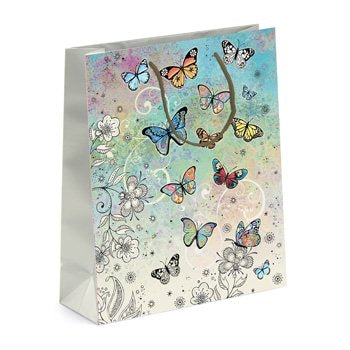 Butterfly Gift Bag - Large